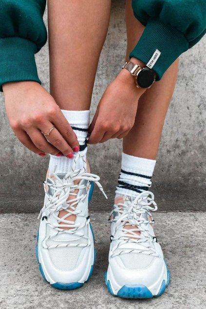 Dámske tenisky farba biela kód obuvi HH2N4034 WHITE/PINK