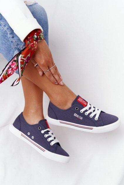 Dámske tenisky farba modrá kód obuvi HH274063 NAVY
