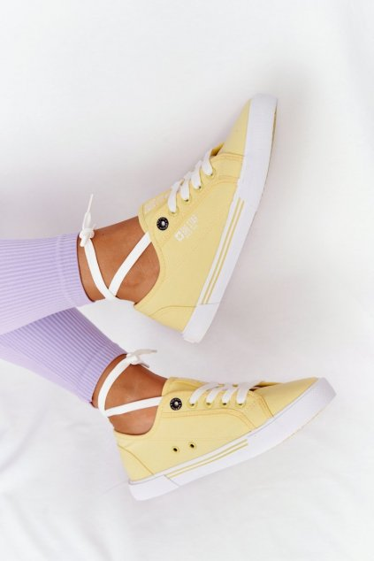 Dámske tenisky farba žltá kód obuvi HH274062 YELLOW