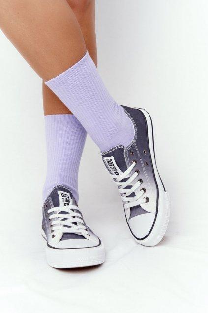 Dámske tenisky farba čierna kód obuvi HH274128 BLACK
