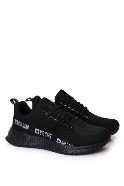 Čierna obuv kód topánok HH174269 BLACK