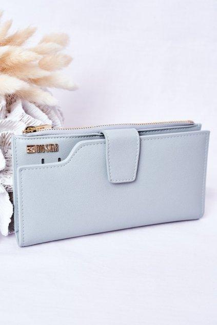 Peňaženka farba modrá kód HH674012 L.BLUE