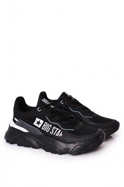 Čierna obuv kód topánok HH174209 BLACK/BLUE