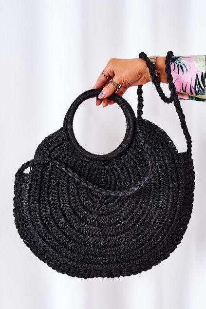 Dámska kabelka čierna kód kabelky T-241 BLACK