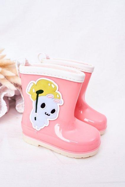 Ružová obuv kód topánok 150 PINK