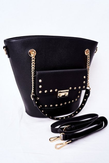 Dámska kabelka čierna kód kabelky NBAG-K4080-C020 BLK