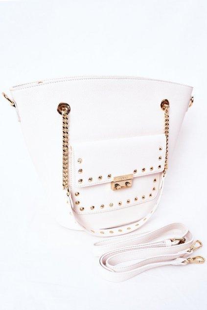 Dámska kabelka biela kód kabelky NBAG-K4080-C000 WHITE