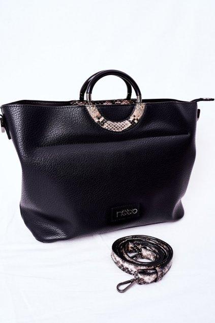 Dámska kabelka čierna kód kabelky NBAG-K3520-C020 BLK