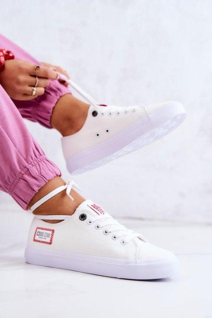 Dámske tenisky farba biela kód obuvi HH274131 WHITE