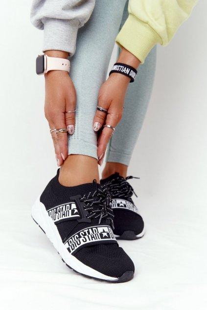 Dámske tenisky farba čierna kód obuvi HH274359 BLACK