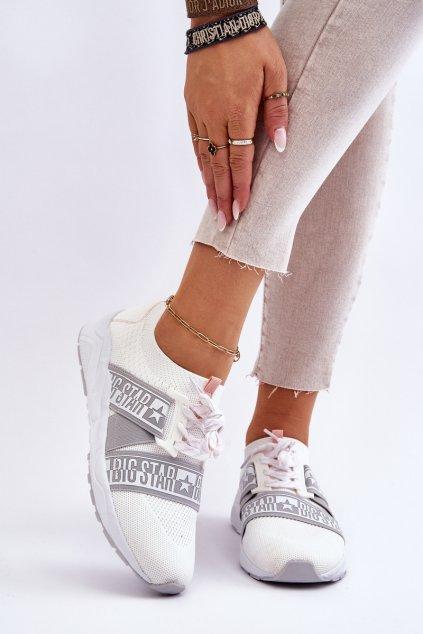 Dámske tenisky farba biela kód obuvi HH274355 WHITE