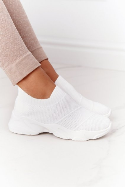 Dámske tenisky farba biela kód obuvi NB399 WHITE
