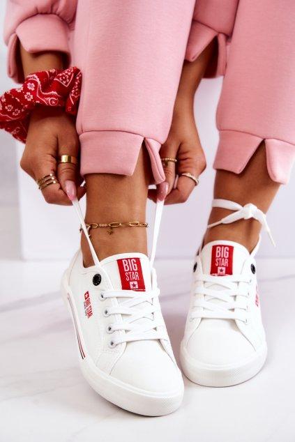 Dámske tenisky farba biela kód obuvi HH274059 WHITE