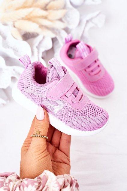Detské tenisky farba ružová kód obuvi ZC02 ZC03 D.PINK