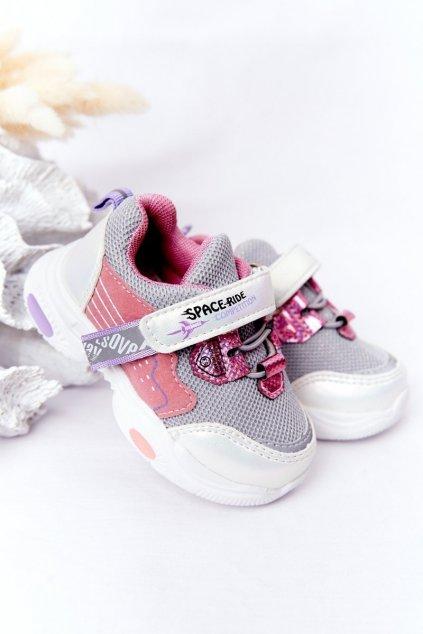 Detské tenisky farba biela kód obuvi CT9107-E WHITE