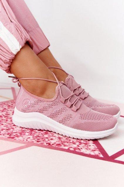 Dámske tenisky farba ružová kód obuvi YM001-5 PINK