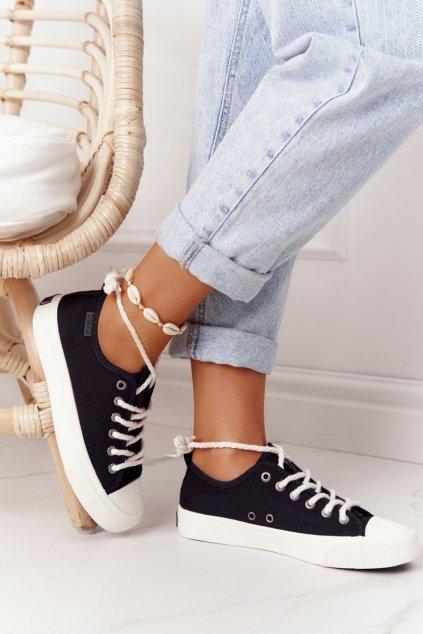 Dámske tenisky farba čierna kód obuvi FF274184 BLACK