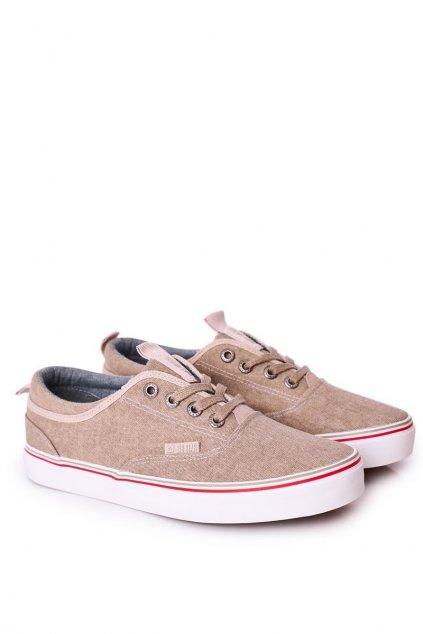 Hnedá obuv kód topánok FF174069 BEIGE