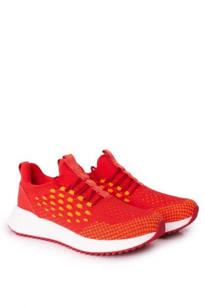 Červená obuv kód topánok FF174240 RED