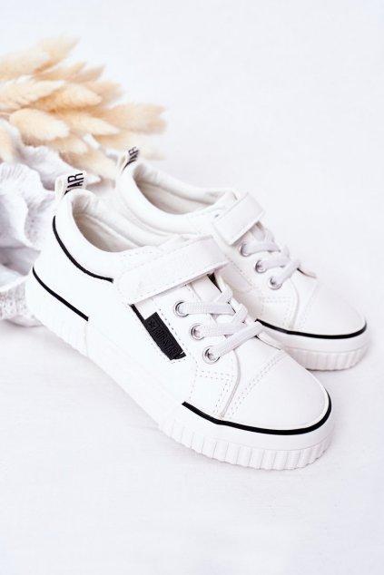 Detské tenisky farba biela kód obuvi HH374028 WHITE