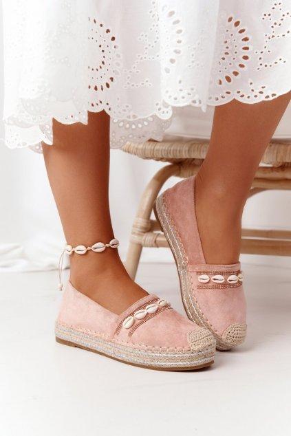 Dámske tenisky farba ružová kód obuvi 6771 PINK