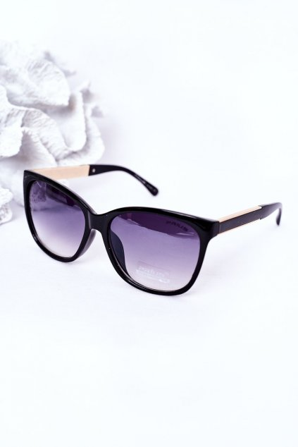 Módne slnečné okuliare čierne PRIUS Eyewear PRIUS004 BLK