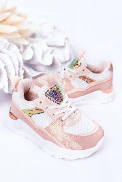 Detské tenisky farba ružová kód obuvi 894-B PINK