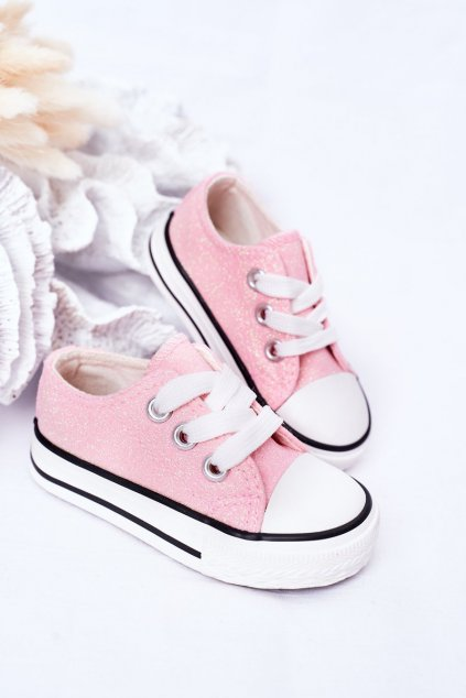 Detské tenisky farba ružová kód obuvi 888-A PINK