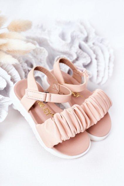 Detské sandále farba ružová kód obuvi 279-C RICE NOODLES / PINK