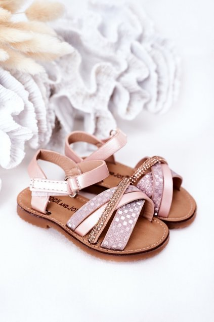 Detské sandále farba ružová kód obuvi 271-B PINK