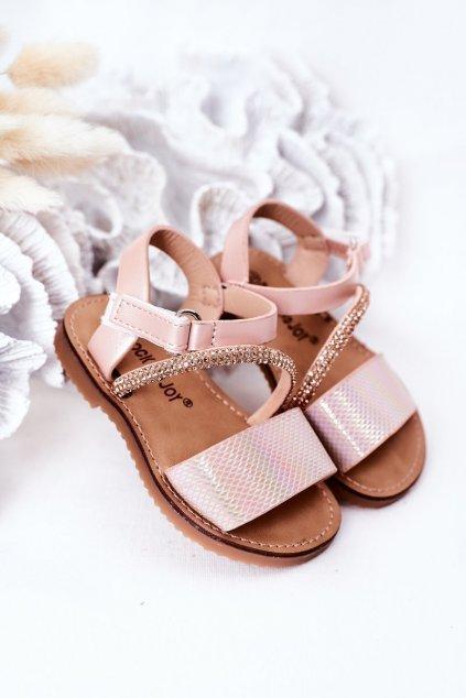 Detské sandále farba ružová kód obuvi 272-B PINK