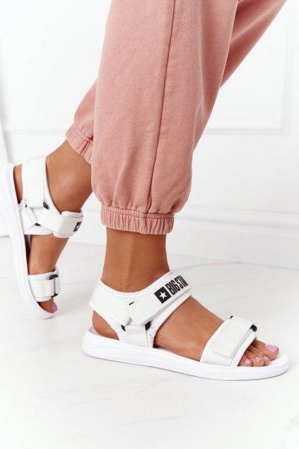 Dámske sandále farba biela kód obuvi HH274A026 WHITE