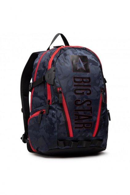 Čierno-červený batoh BS HH574179 BLK/RED