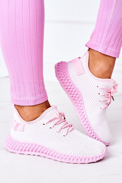 Dámske tenisky farba ružová kód obuvi NB392P L.PINK
