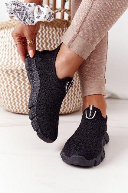Dámske tenisky farba čierna kód obuvi DDQ208 BLACK