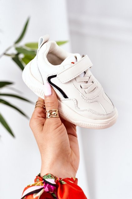 Detské tenisky farba hnedá kód obuvi X11 BEIGE