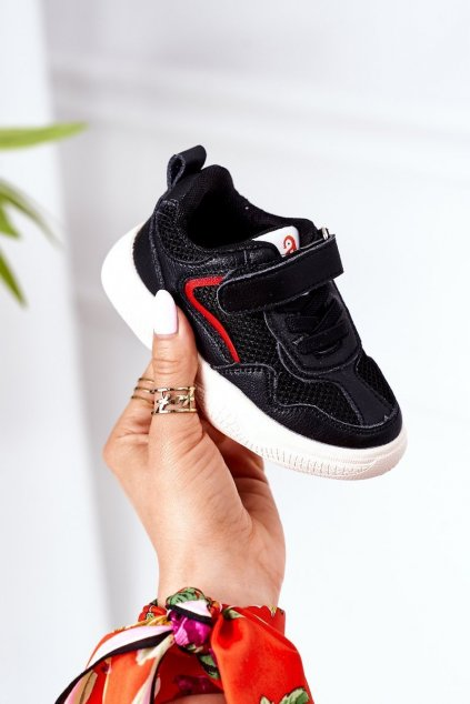 Detské tenisky farba čierna kód obuvi X10 BLACK