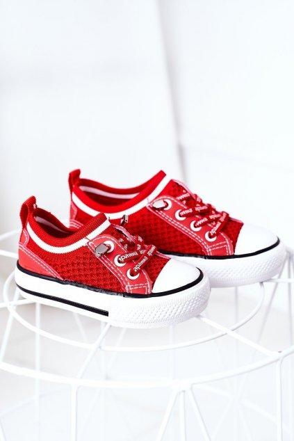 Detské tenisky farba červená kód obuvi XC238 XC239 XC240 RED