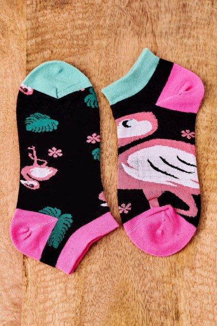 Dámske ponožky farba čierna kód SK02870-3 FLAMING