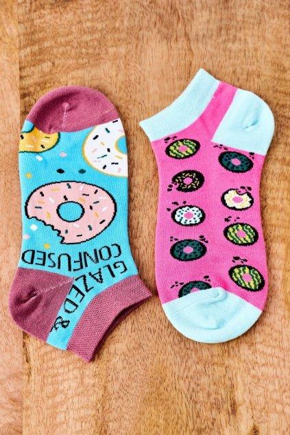 Dámske ponožky farba ružová kód SK02870-1 PĄCZKI