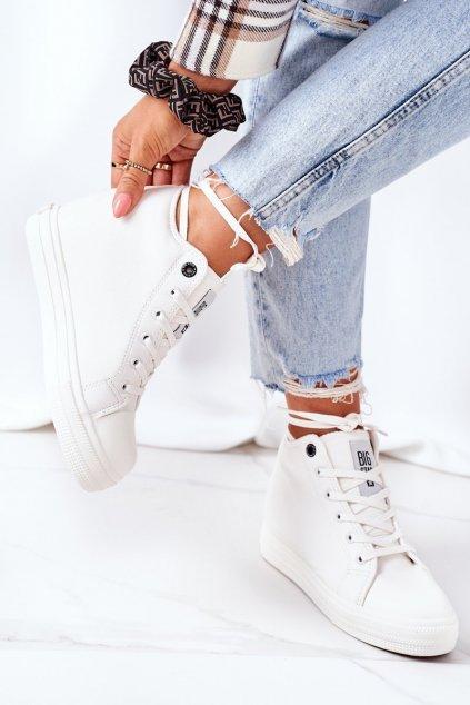 Dámske tenisky farba biela kód obuvi EE274128 WHITE