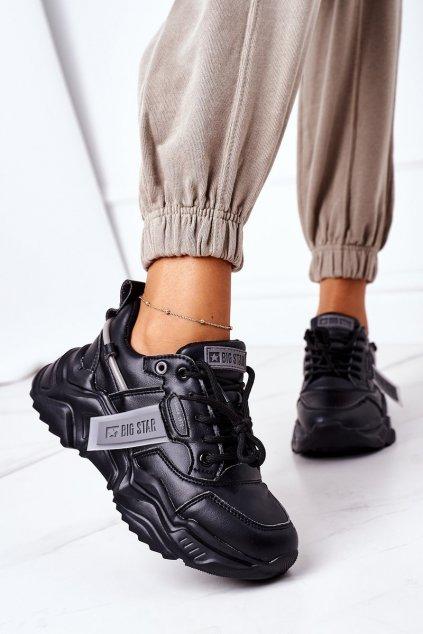Dámske tenisky farba čierna kód obuvi GG274215 BLACK/GREY
