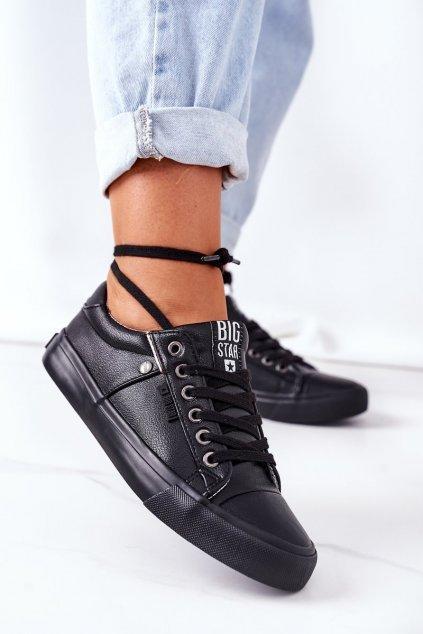 Dámske tenisky farba čierna kód obuvi GG274061 BLACK
