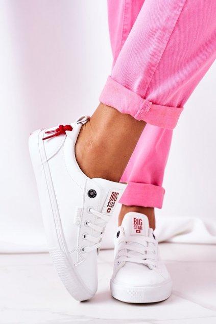 Dámske tenisky farba biela kód obuvi GG274160 WHITE