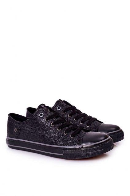 Čierna obuv kód topánok II174002 BLACK
