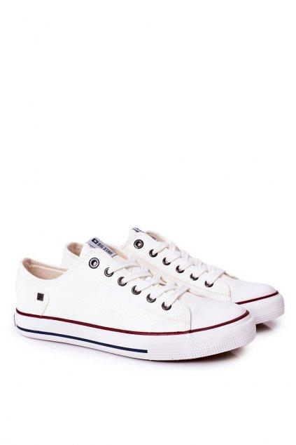 Biela obuv kód topánok II174001 WHITE
