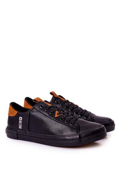 Čierna obuv kód topánok GG174026 BLACK