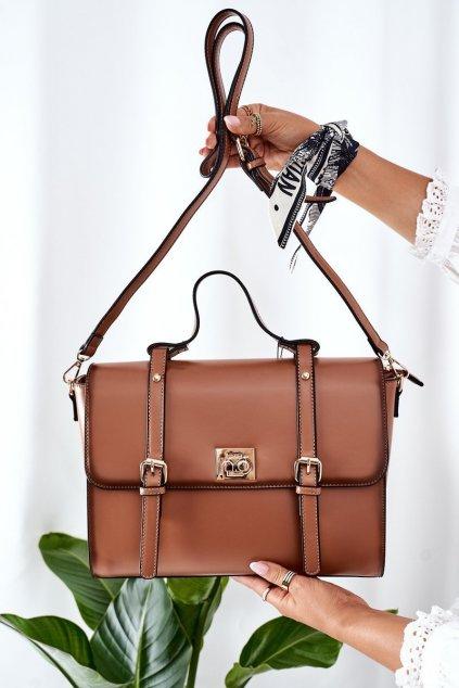Dámska kabelka hnedá kód kabelky NBAG-L1540-C015 CAMEL