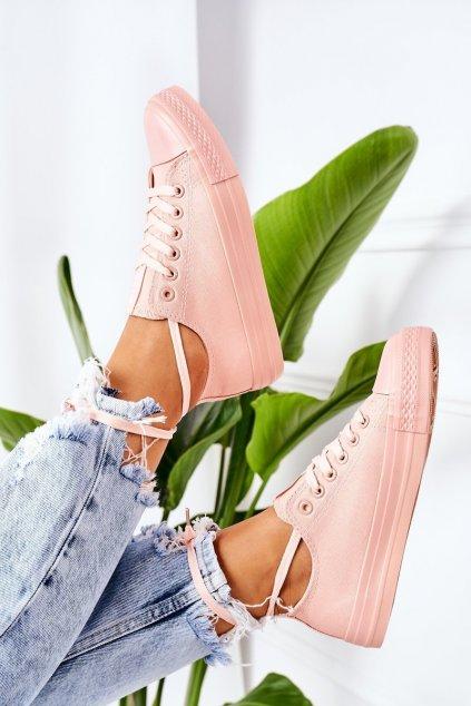 Dámske tenisky farba ružová kód obuvi 9SP30-1141 PINK
