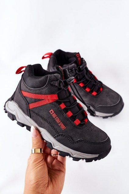 Detské tenisky farba čierna kód obuvi GG374046 BLACK